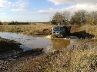 606 Squadron, RAF Reserves, off-road driving, driver training, Land Rover, military vehicle, service vehicle, RAuxAF