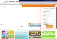 Beli Tiket Kereta Api Online 2013