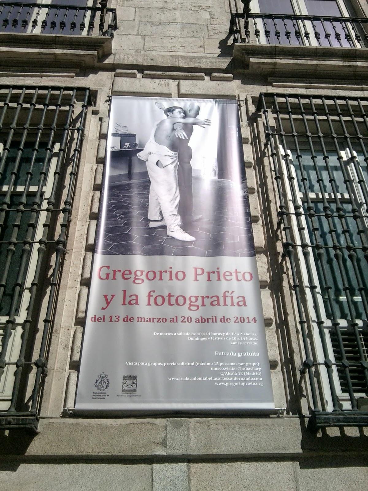 Gregorio Prieto, Real Academia de Bellas Artes de San Fernando, Exposiciones, Temporales, Madrid, Blog de Arte, VOA GALLERY, Yvonne Brochard, Fotografía, Collage, Postismo,