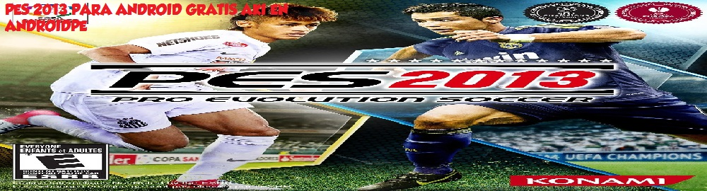 descargar pes 2013 para android apk data