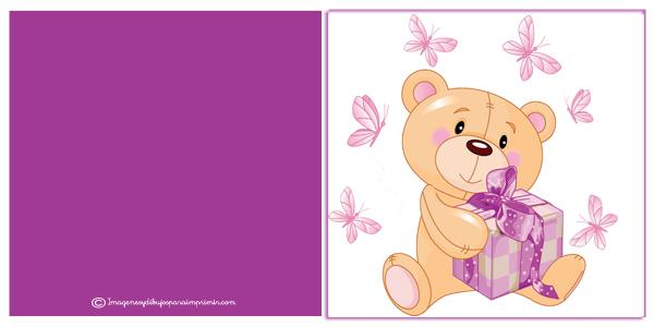 Bear with birthday