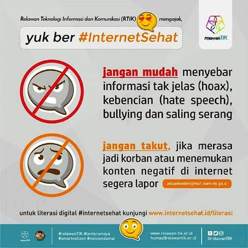 #INTERNETSEHAT