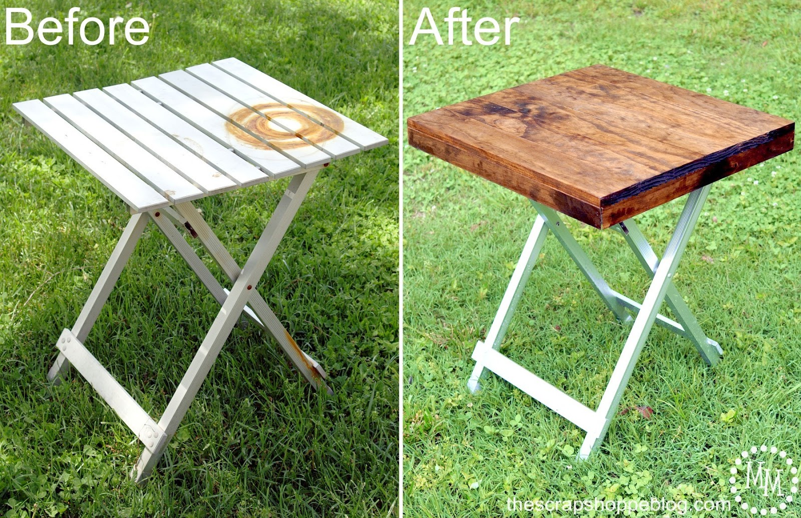Make A NEW Table Top And Spray Paint Those Legs!