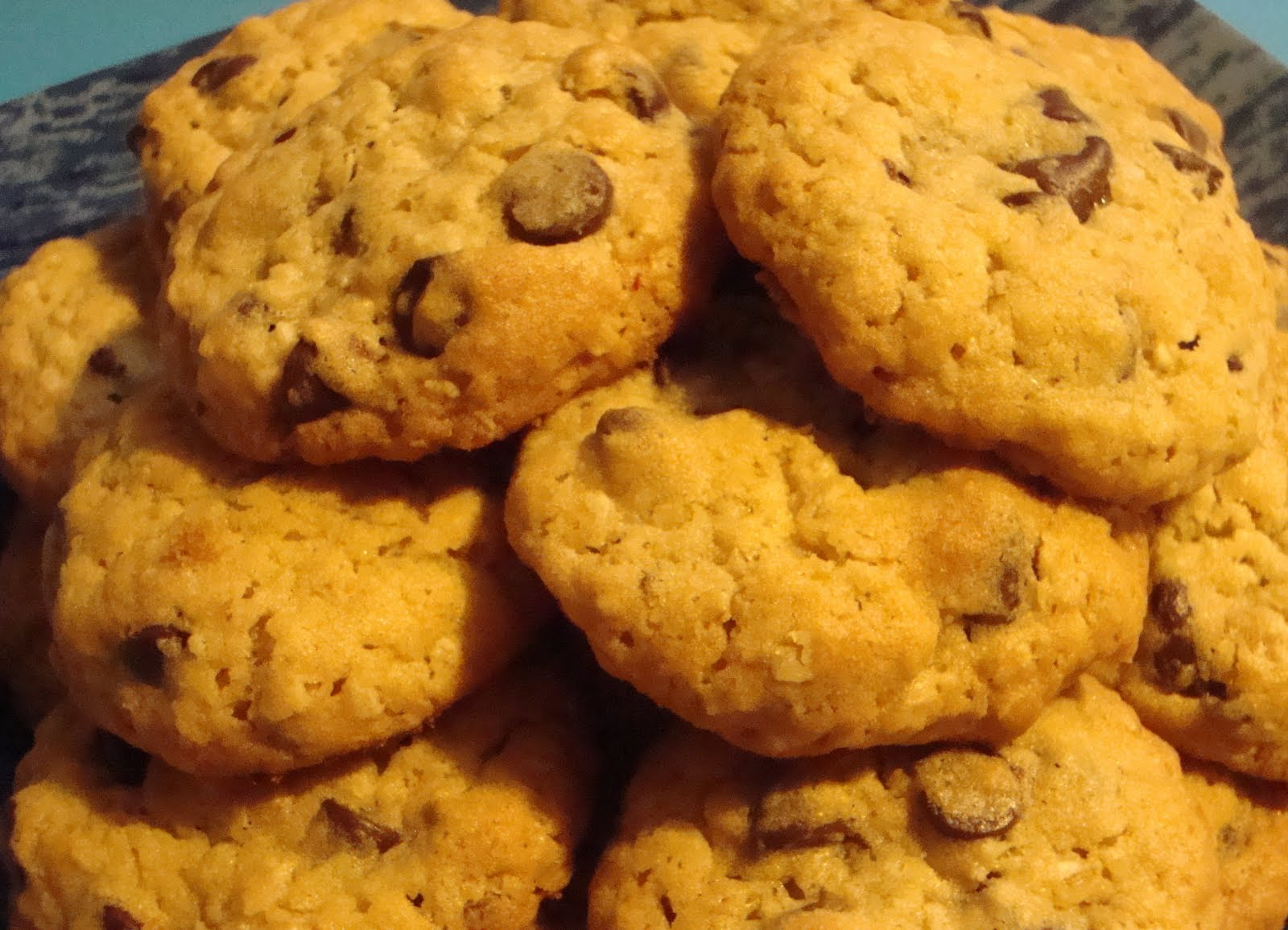 Food Floozie: Hillary Clinton's Oatmeal Chocolate Chip Cookies