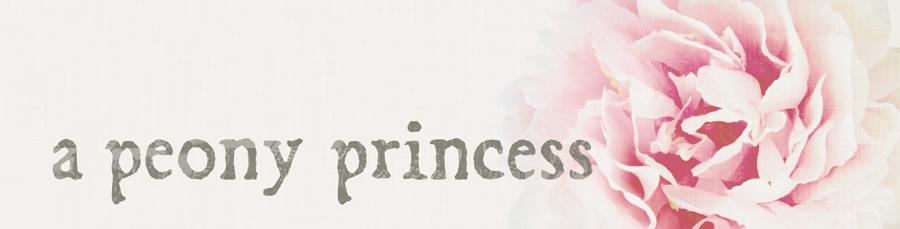 a peony princess