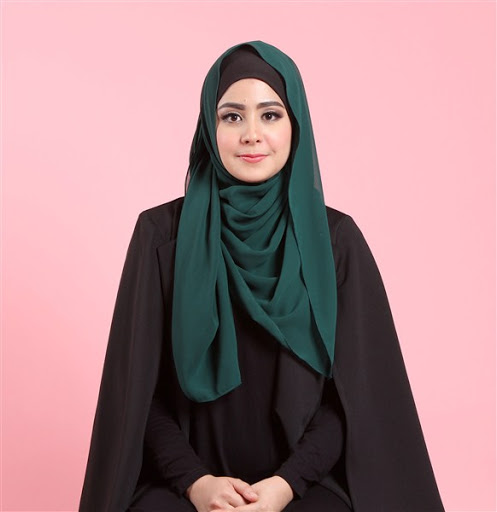 trend model gaya hijab ala risty tagor terbaru 2017/2018