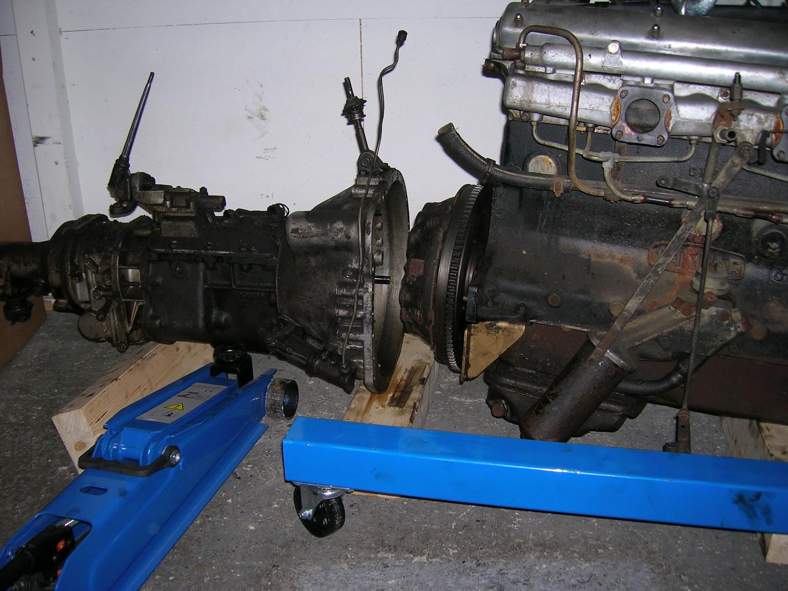 Restaurierung Eines 1960er Jaguar Mk Ii 3 8 Juni 2012