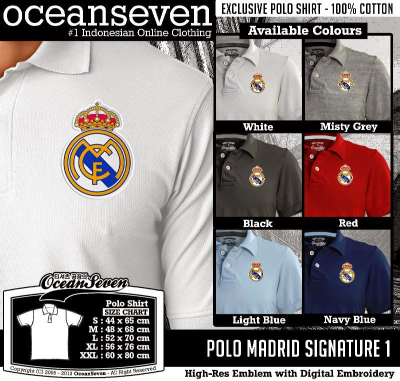 Kaos Polo Madrid Signature 1