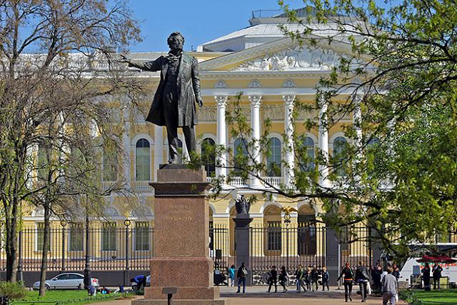 A vida dramática e morte de Alexander Pushkin