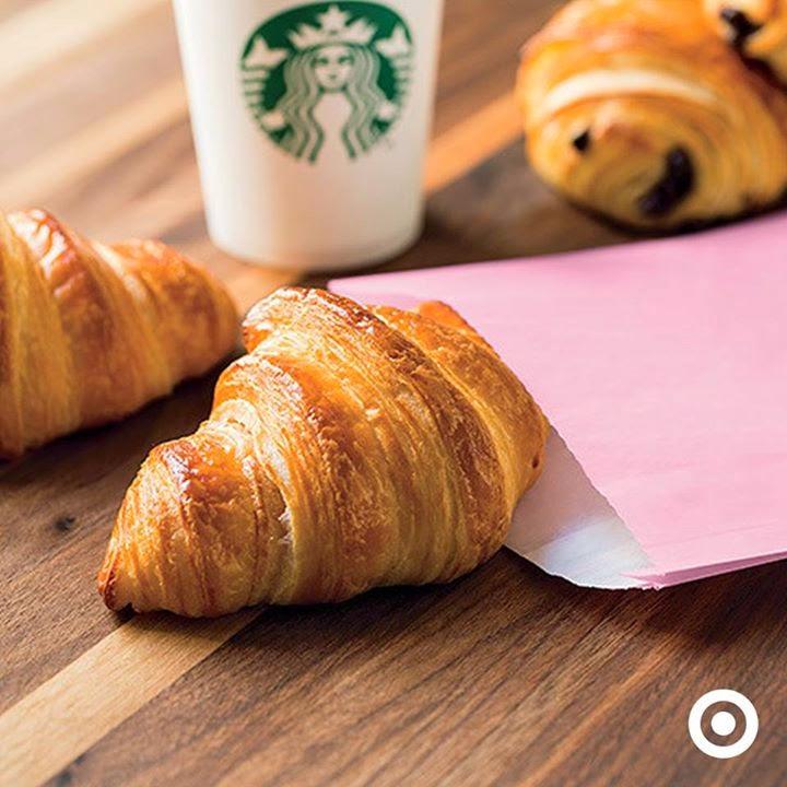 Target Starbucks free pastry