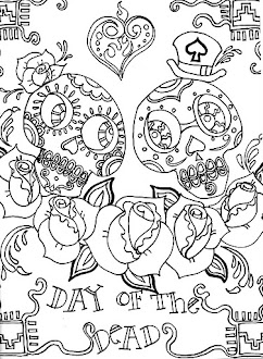 Day of the Dead Lesson Plan w/ Printables