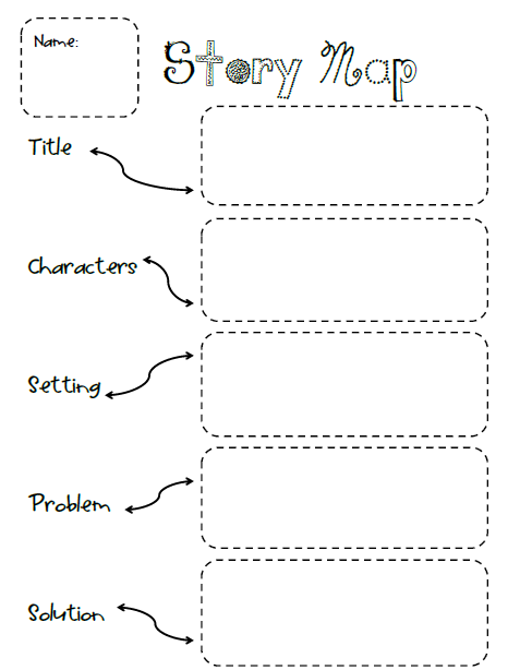 mountain story map book report In this story map graphic organizer, students will learn about constructing a good book report students are given a list of components from the story little.