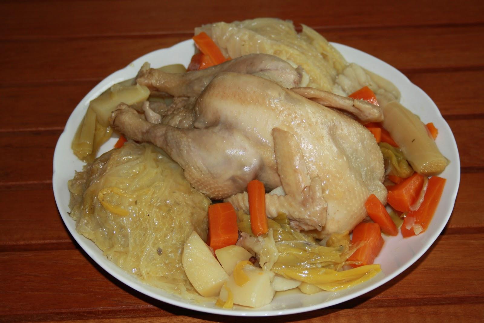 La cuisine de mathilde poule au pot - Cuisine poule au pot ...