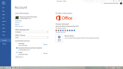 Microsoft Office 2013 with Aktivator VL 32-bit 64-bit