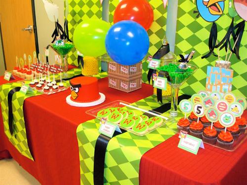 Organizar una Fiesta Temática de Angry Birds | Arcos con Globos ...