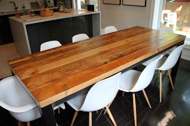 #3-1 Harvest Table - Modern Metal Table