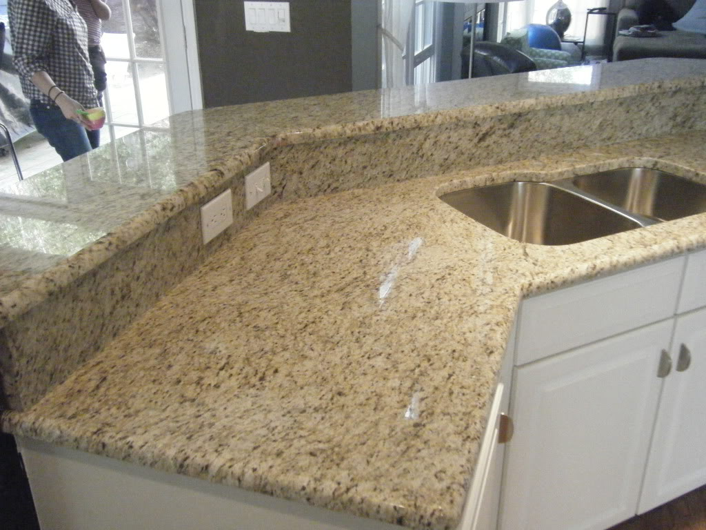 Our new home decisions decisions for 3 4 inch granite countertops
