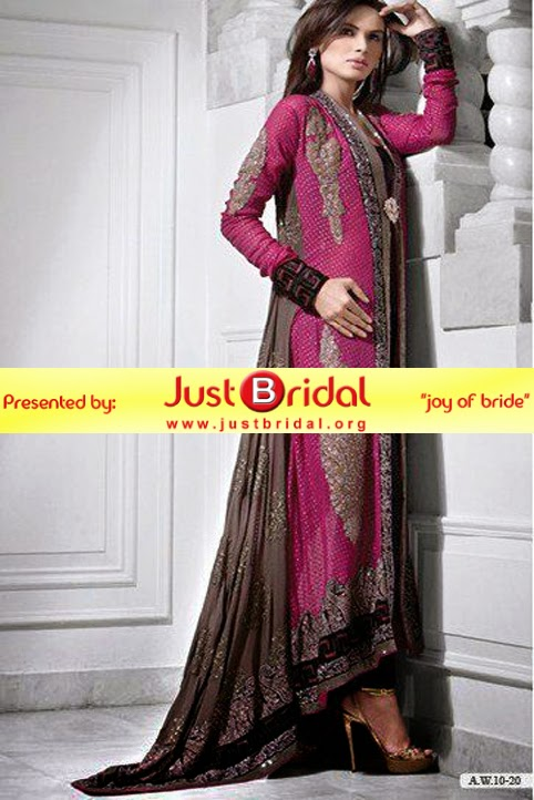Pakistani bridal formal dresses 2015