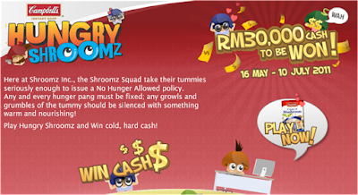 Campbell's 'Hungry Shroomz' Contest