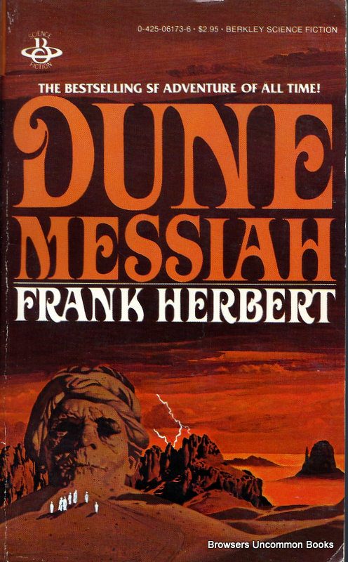 an analysis of the novel chapterhouse dune by frank herbert Frank herbert's dune is complicated and dense it was turned down  that  theme was explored, along with another: leaders of movements  he quickly  began work on the sixth novel, which was titled chapterhouse: dune.