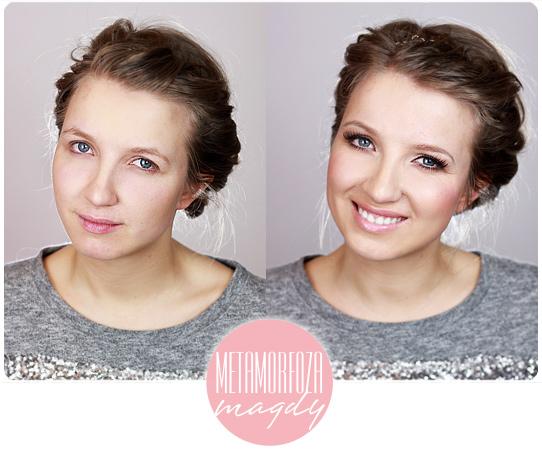 Alina Rose Blog Kosmetyczny Metamorfoza Magdy Opadająca Powieka