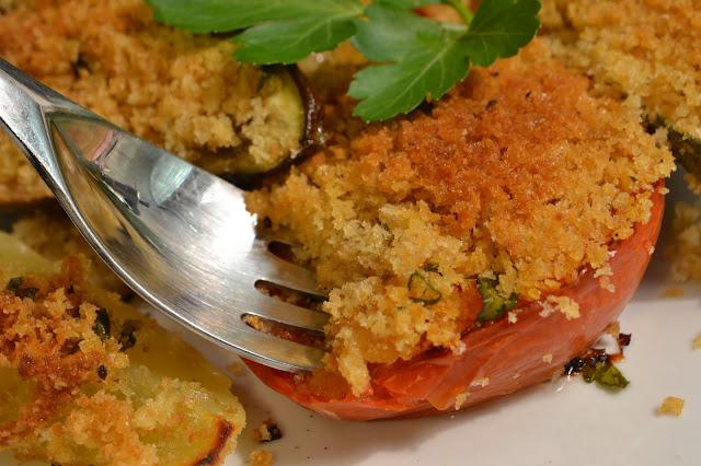 ricetta tipica delle marche: verdure gratinate al forno