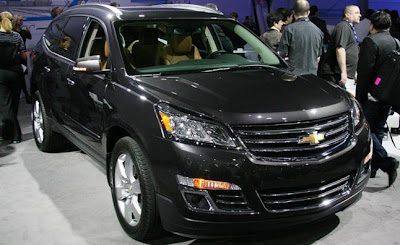 2013 Chevy Traverse Release Date and Redesign