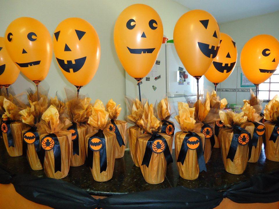 KellyPersonalizados Festa Halloween -> Decoracao De Festa Infantil Tema Halloween