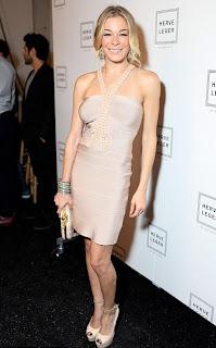 Celebrities Bandage Dresses, LeAnn Rimes Bandage Dresses Pics