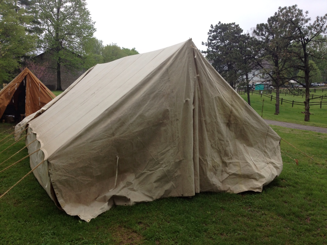 Ex&les of WWII German Tents the Armbruster Tentmaker is now reproducing for living historians museums movie productions ect. Customer aged the canvas ... & Armbruster Manufacturing Co. | WWII German Truppenzelt (Troop Tent ...