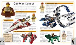 Inside of Lego Star Wars Visual Dictionary