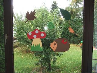 Vio kunterbunt herbstdeko - Herbstdeko basteln kindergarten ...