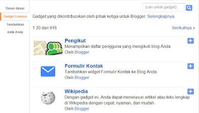 Menambah Contact Form di Blogger