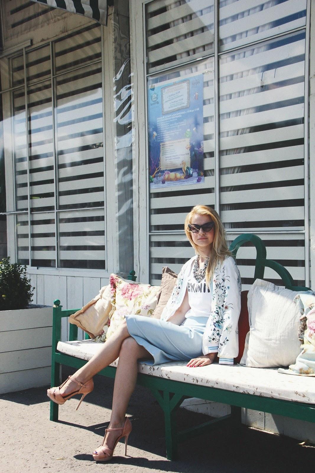 summer look, bomber look, street style,коста мода,модный блоггер