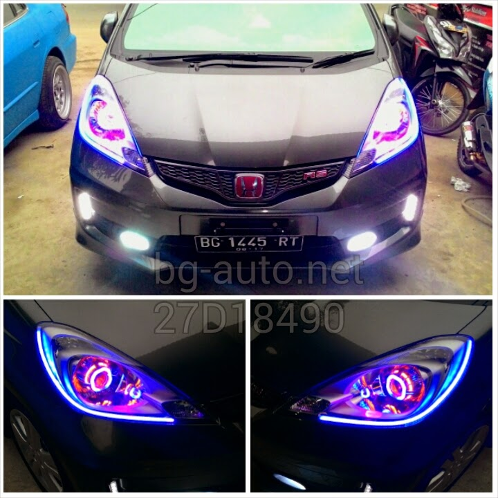 Custom Headlamp Angele Eyes With Devil Eyes