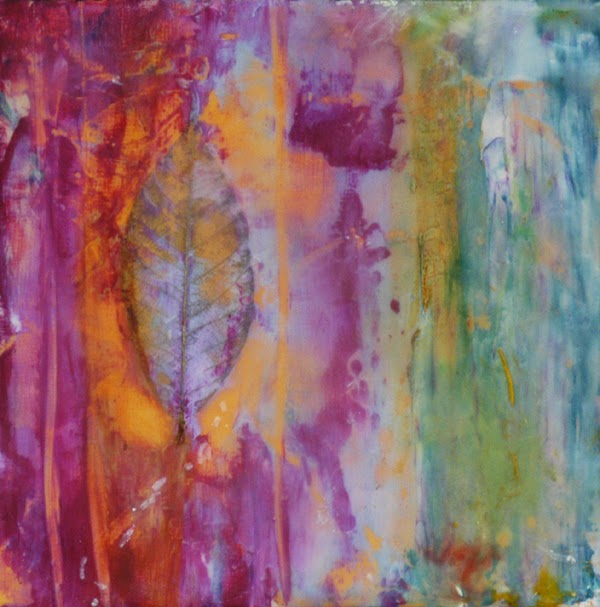 venetian plaster and wax by Sandra Duran Wilson