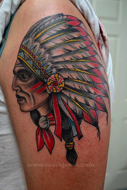 tattoo by Ross K Jones 2013 Tattooer at Art and Soul Tattoo Co. Los title=