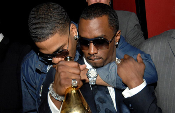 usher and puff daddy relationship