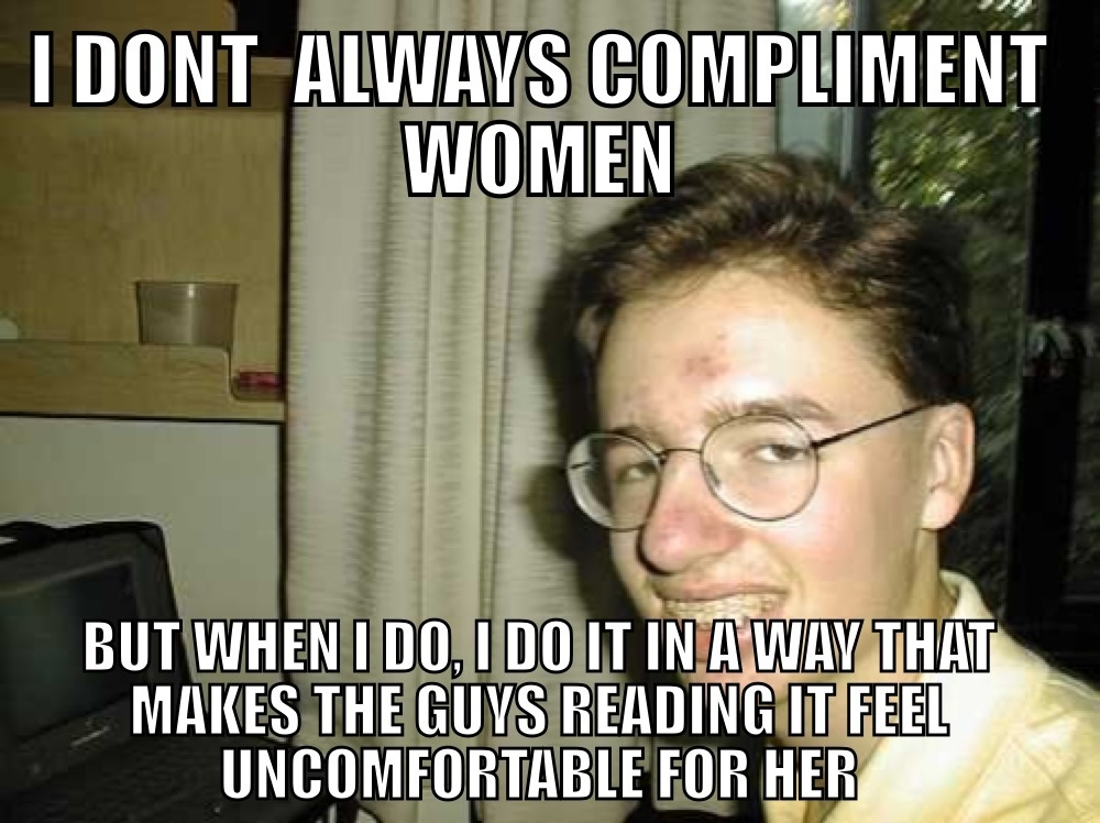 don't always compliment women... - Dr. Heckle You Are Awesome Gif The Office