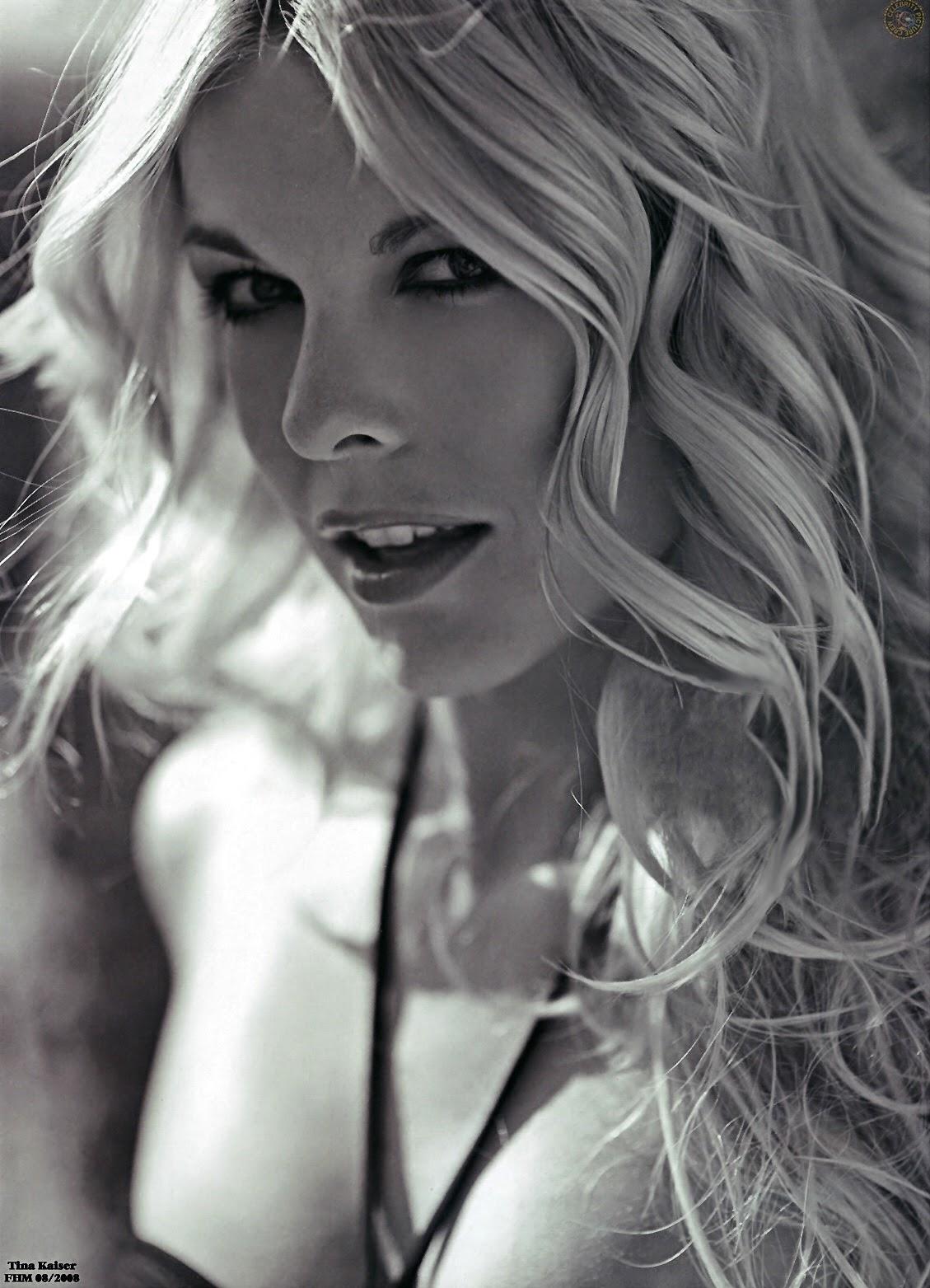 Tina Kaiser Nude FHM Magazine