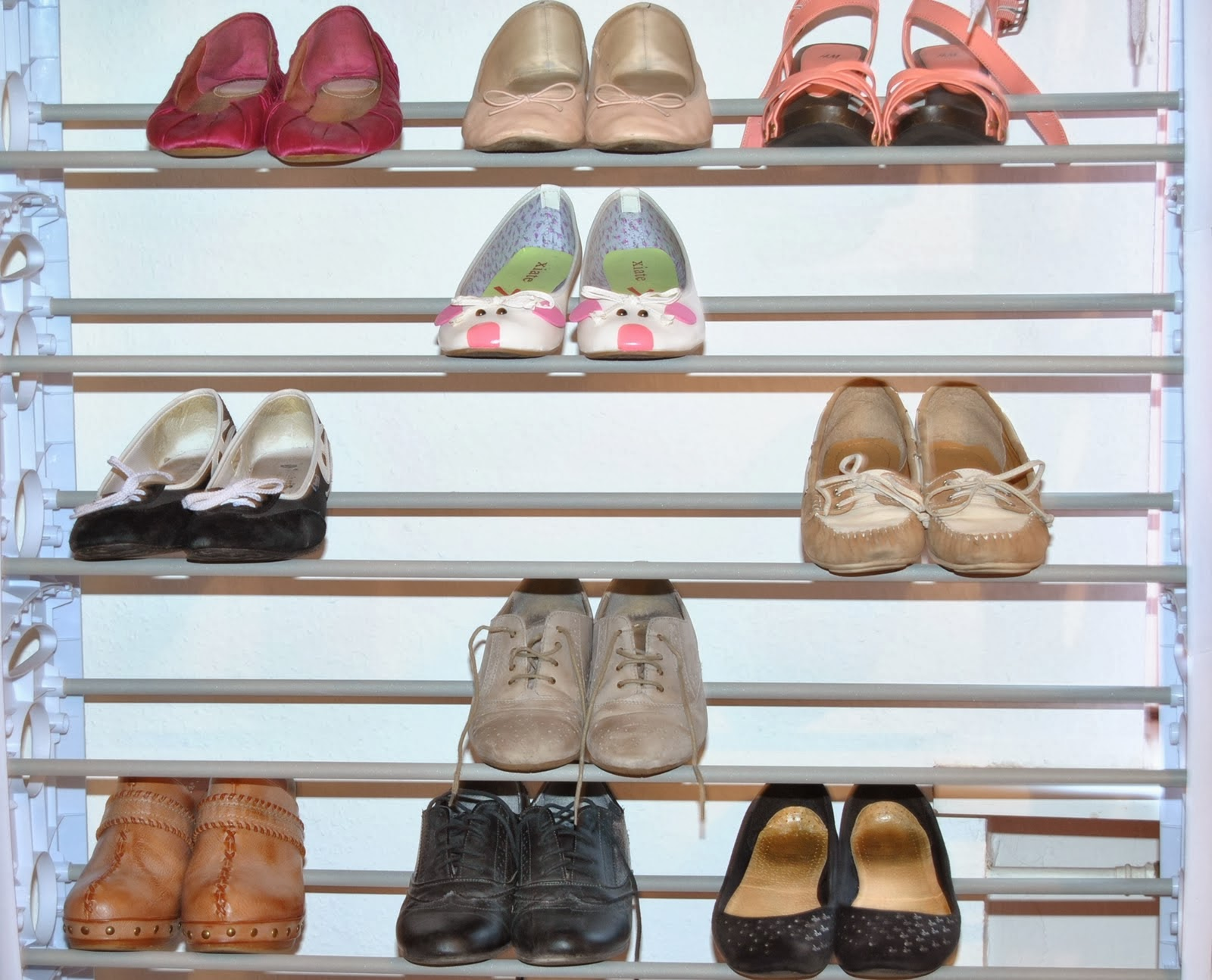 Pretty in Pink | 25 Ways to Store Shoes in Your Closet | Home Improvement