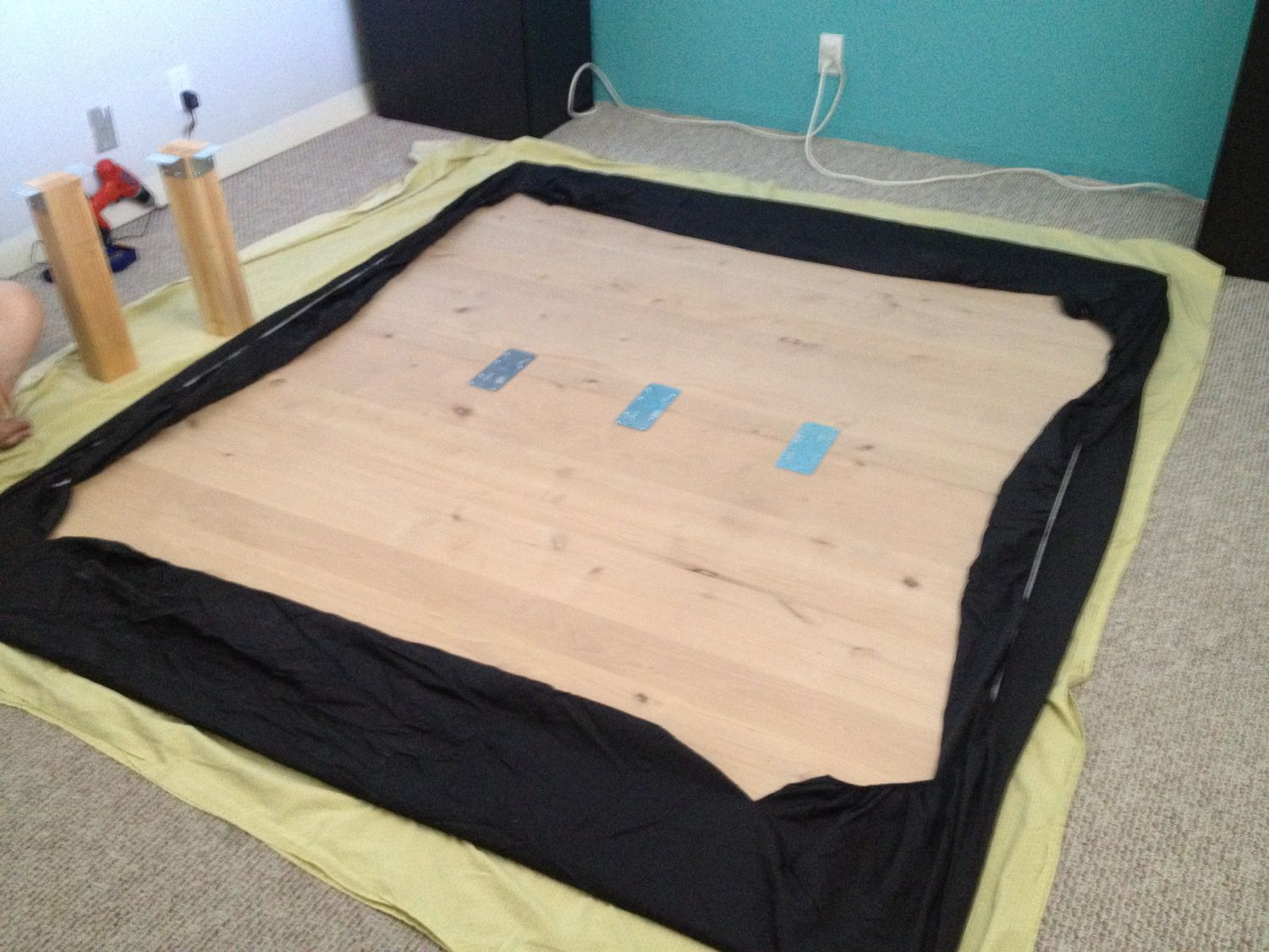 HOME: Finally, a Cal-King Bed Frame with space for dog kennels