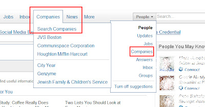 Beyond LinkedIn Basics Tip #3: Research Companies