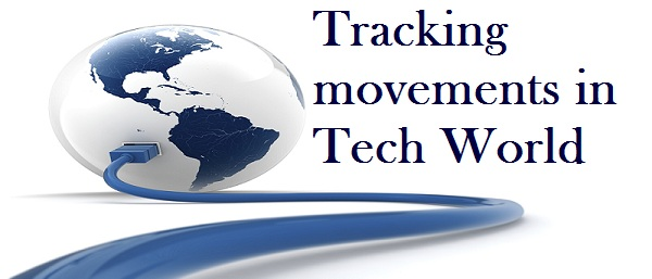 Tracking movements in Tech World
