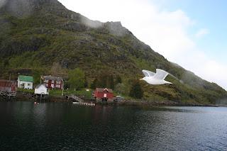 wildlife rond de Noordkaap. Onderweg komen we meer - in het wild levende - rendieren tegen dan mensen, wildife in Noorwegen - zeemeeuwen - zeearenden - wildlife Noorwegen