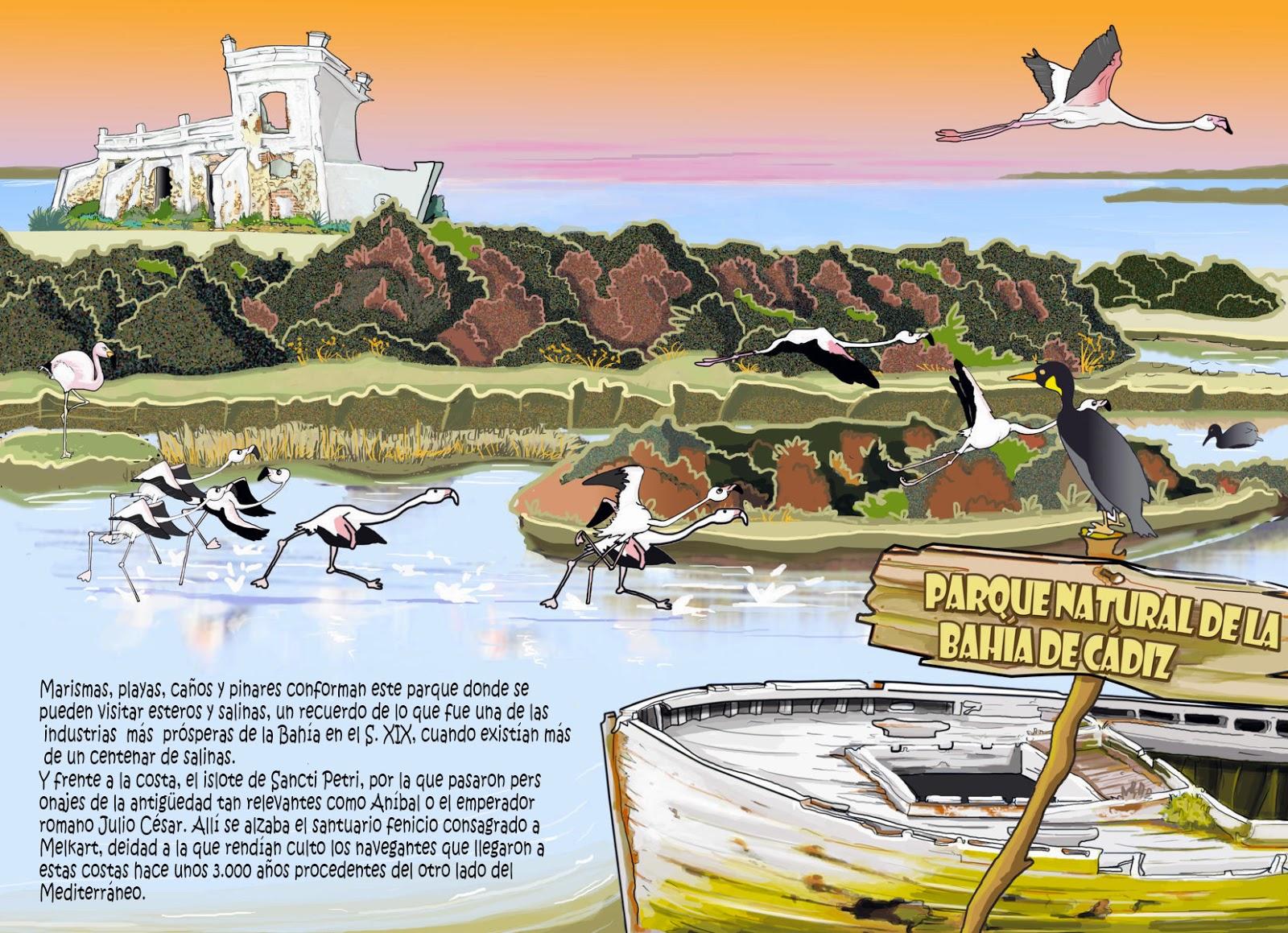 """<img src=""""Parque Natural Bahía Cádiz.jpg"""" alt=""""Parques Naturales en dibujo""""/>"""