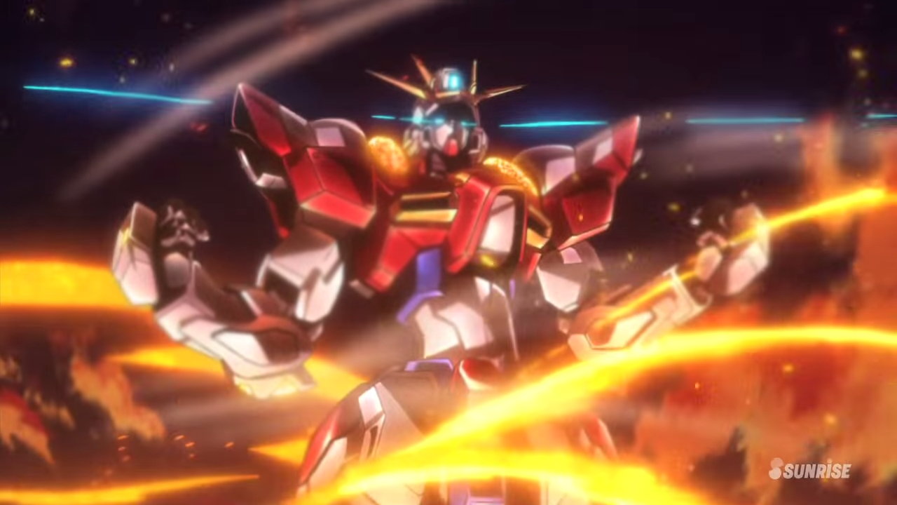 Gundam Build Fighters Try Build Burning Gundam Wallpaper 22:34 Build Burning Gundam