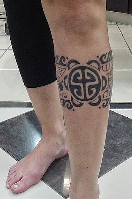 Tattoos Maori na Canela