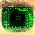 Como é feita a leitura biométrica de íris e retina?