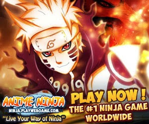 Anime Ninja il gioco sulla serie di naruto